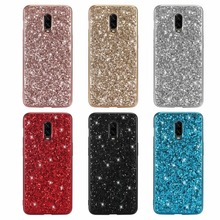Bling Glitter Case for oneplus 6T Luxury Shining Powder Sequins Protective Cases for one plus 6 / 1+6