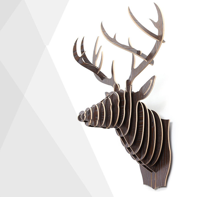European Home Furnishing wall decorations elk animal picture a generation of hair ornaments