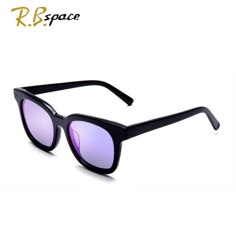 RBspace Unisex Piastra Retro occhiali da sole polarizzati Marca Occhiali Da Sole Lenti Polarizzate Vintage Accessori di Eyewear Occhiali Da Sole Uomo/Wom - 4