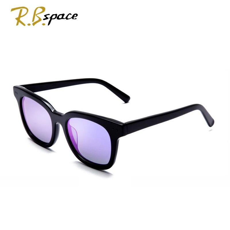 Rbspace унисекс ретро пластины поляризованных солнцезащитных очков бренд солнцезащитных очков Поляризованные линзы старинные очки Аксессуар... - 4