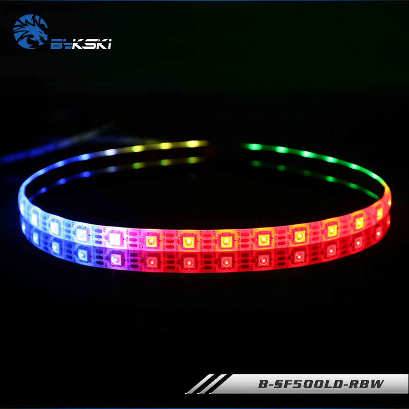 Bykski B-sf500ld-rbw/b-sf1000ld-rbw For Case Lighting With 3m Adhesive Led 5v Strips Rbw Rgb Lighting Strips