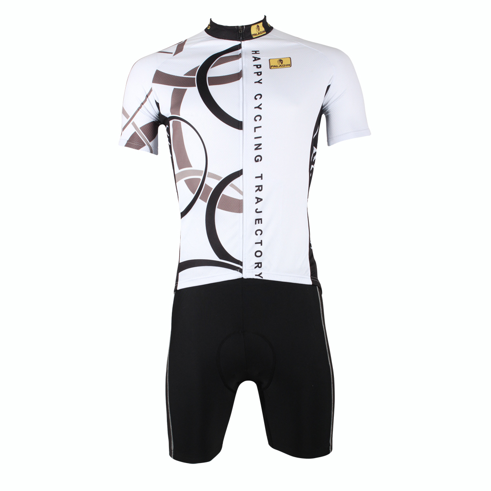 2016 Men White top Sleeve Cycling Jersey Circular Trajectory Bike Jerseys Happy Cycling Trajectory Cycling Clothing Size S-6XL I 2016 new men s cycling jerseys top sleeve blue and white waves bicycle shirt white bike top breathable cycling top ilpaladin