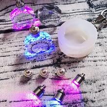 1 шт. восьмиугольная резка shpe Жидкая силиконовая форма DIY Ювелирные изделия из смолы подвески, ожерелья, формы из смолы для ювелирных изделий