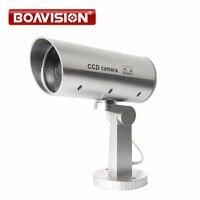Câmera falso Manequim Câmera De LED Segurança Vigilância Seguro Para Você Interfone Casa de Proteção