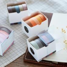 Бумажные ленты washi в виде цветка вишни украшение альбома Маскировочная