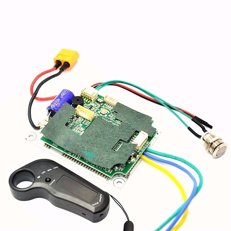 Esk8 longboard contrôleur 24 v 36 v simple à double moteur moteur de moyeu sans balais ESC 2.4g transmetteur pour électrique planche à roulettes - 2