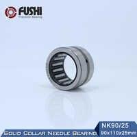 NK90/25 ベアリング 90*110*25 ミリメートル (1 ピース) ソリッドカラー針状ころ軸受内輪なしの NK90/25 NK9025 ベアリング