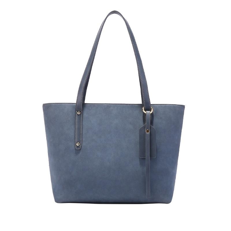 Bolso Mujer Negro  Hobos Ladies Leather Handbags Spring Casual Tote Bag Big Shoulder Bags For Woman