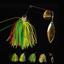 20.5g/10cm Spinner Bait,Fishing Lures Wobbler Protein Tackle Winter Fishing Hooks Set Metal Spoon SPINNERBAIT LURES Set 4PCS