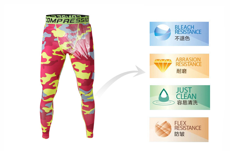 fbabfb4a3ed87 Hot Mens Athletic Pants Camo Compression Running Sports Training Base  Layers Skin Tights Quick Dry Tracksuit Bottoms S 3XL on Aliexpress.com |  Alibaba Group
