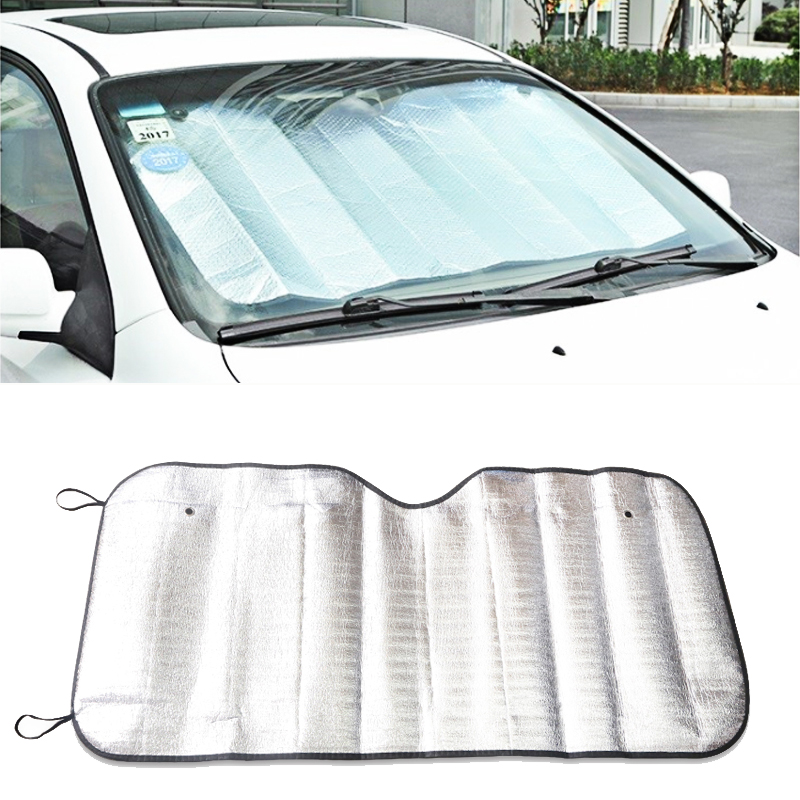 Universal Rear Front Car Window Sunshade Film Sun Shades For Windshield Cover Sun Shade Anti Snow Frost Ice Accessories 130 60cm Side Window Sunshades Aliexpress