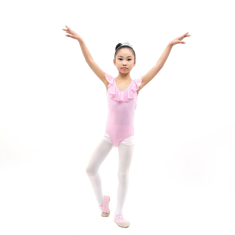 Girls Kids Leotard Dance Gymnastics Ballet Sleeveless Leotards New