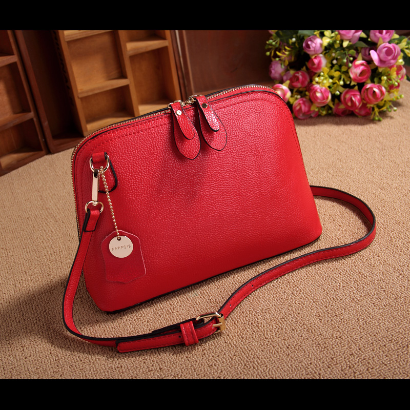 100% Genuine Cow Leather Women Bags Handbags Famous Brand Lady Real Leather Shell Designer Shoulder Bag All-match Messenger Bags Сумка