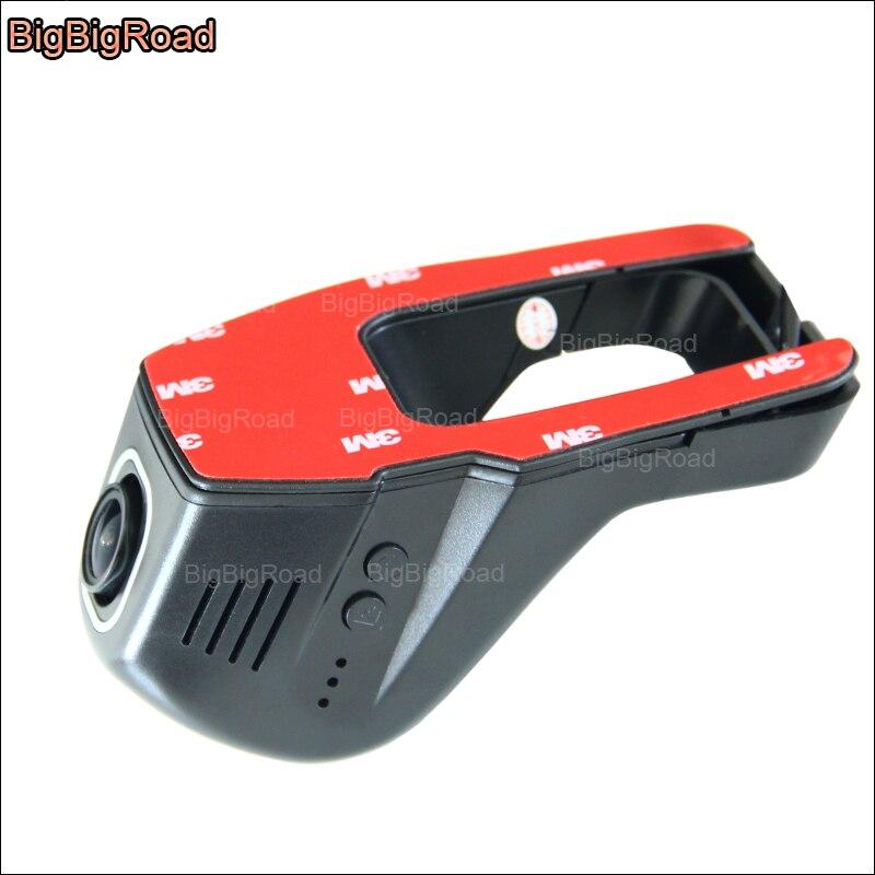 BigBigRoad для Toyota Levin автомобильный wifi DVR видеорегистратор Novatek 96655 Скрытая установка видеорегистратор FHD 1080P