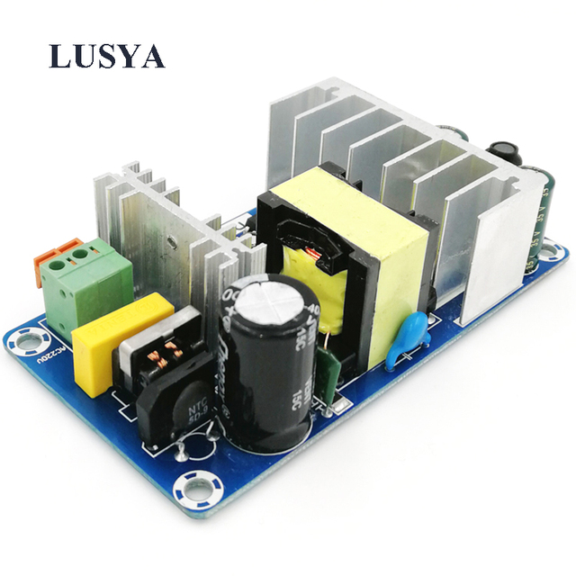 Lusya AC to DC Converter 110v 220v to DC 24V 4A 5V 1A 120W Dual Switching Power Supply Board power source board A1 020