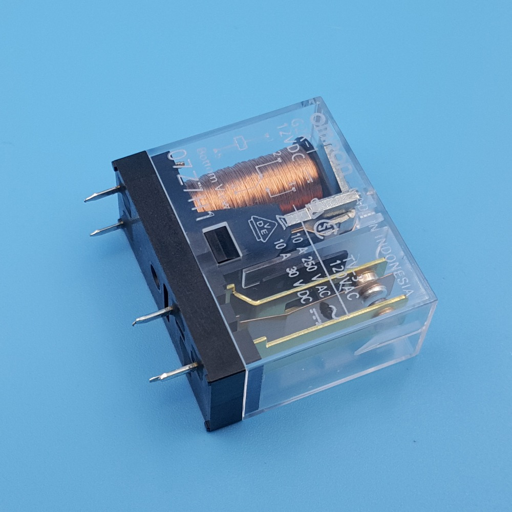 Image 5 - 10Pcs Omron G2R 1 DC12V/24V PCB Mount 5Pin SPDT Power Relay 10A/250VAC-in Relays from Home Improvement