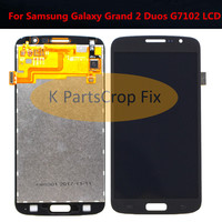 5.25'For Samsung Galaxy Grand 2 Duos G7102 G7105 G7106 G7108 Touch Screen Digitizer Sensor Glass With LCD Display Panel Assembly