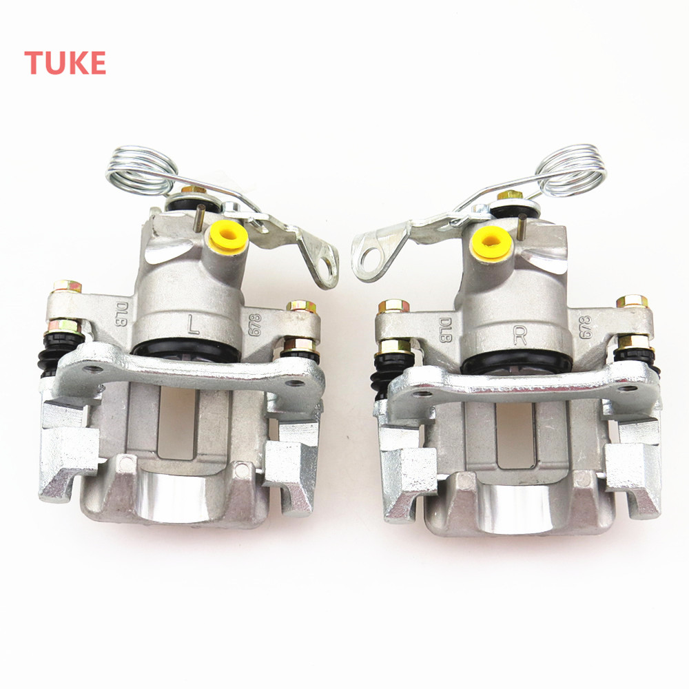 TUKE Left Right Disc Brake Rear Pump Calipers 3BD615423 1J0 615 424 B 8N0 615 423 A 8E0 615 424 For VW PASSTA A4 A6 QUATTRO