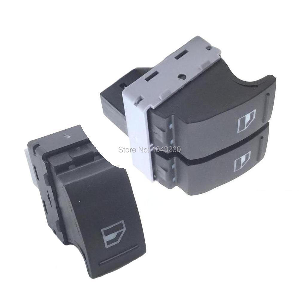 Passenger + Drive Side Electric Power Window Switch 7E0959855 7E0 959 855 7E0959855A 7E0 959 855A For VW Transporter T5 T6 9B9