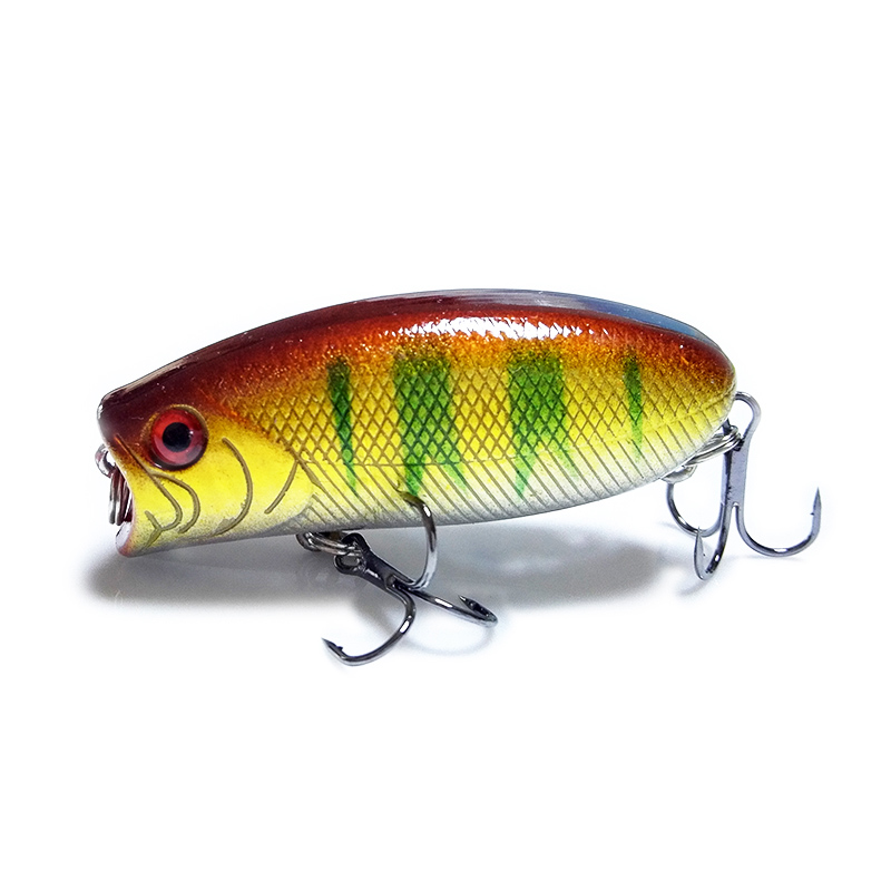 Elujõuline kalastusmaht 5,5cm 11g 8 # konksud Pesca kalahüppade - Kalapüük - Foto 5