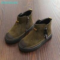 Children Martin Boots 2017 New Winter Brand Australia Boots Boys Low Short Botas Kids Baby Nina