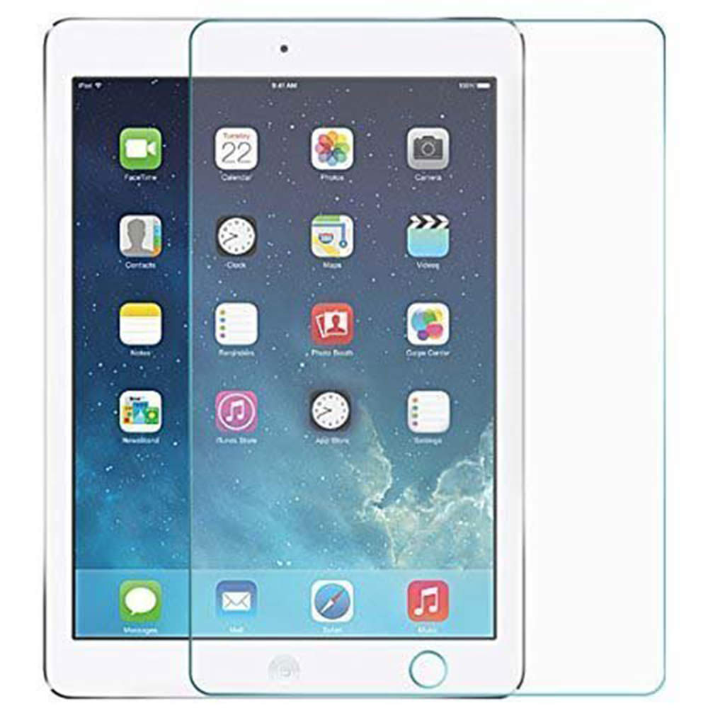2 Packs Explosion Proof Clear Screen Protector For iPad Air 2 Tempered Glass For iPad 2017 Pro 9.7 Screen Protector Film