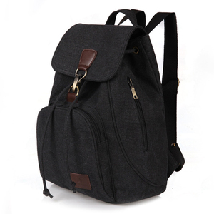 Woman canvas backpacks female
