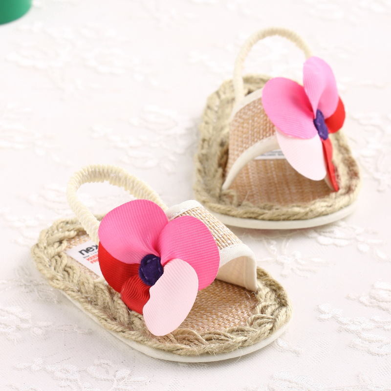 Aliexpress Com Buy New Summer Flowers Baby Shoes Baby Gladiator