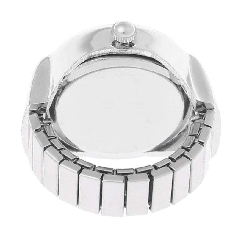 JAVRICK Women Dial Quartz Analog Finger Ring Watch Butterfly Elastic - Damklockor - Foto 4