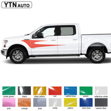 car sticker 2pc cool racing bird style side body vinyl graphic accessory modified protect scratch decal custom for Ford F150