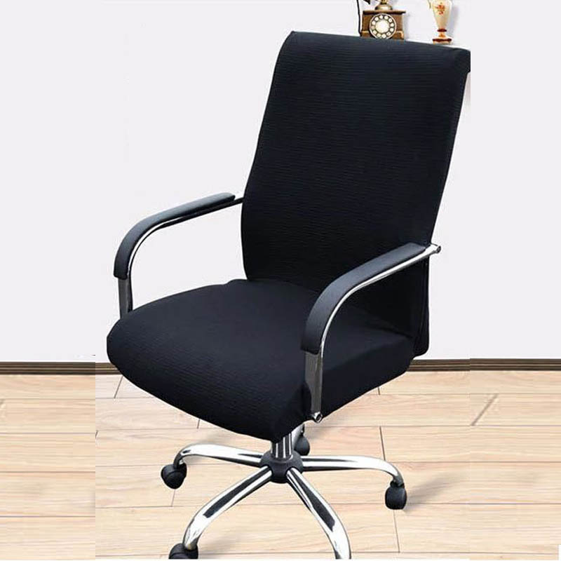 Elastic Office Chair Cover Spandex Comfortable Computer Armchair Covers Removable Stretch Rotating Lift Fundas Silla In From Home
