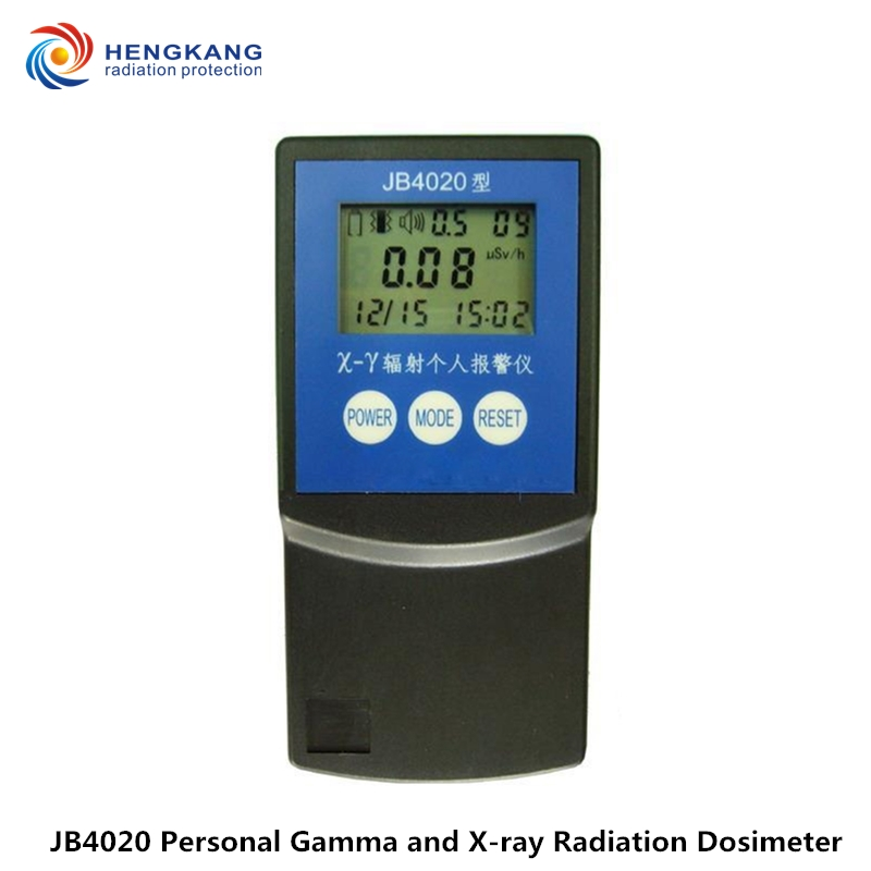 High quality JB4020 personal ionizing radiation detector portable beta, gamma and x ray radiation alarm detector