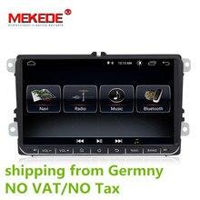 """HD 9 pollici Auto Radio 9 """"Android 8.1 di GPS Del Veicolo di Navigazione DVD Per VW Golf Polo Passat Beetle Touran jetta SKODA SEAT"""