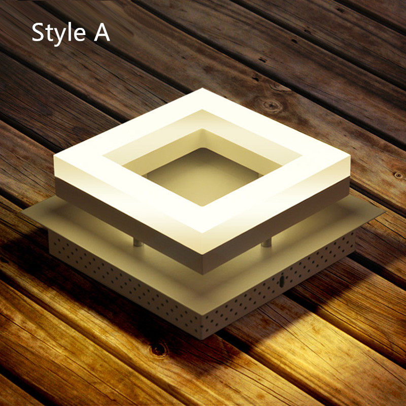 цена Entrance 1 pcs Mini Led ceiling lights Porch light Lamp Creative aisle Balcony Corridor Lamp home Square Modern led Ceiling Lamp