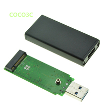 USB 3.0 to M.2 SATA SSD Enclosure USB3.0 to NGFF B key B+M Key adapter M2 mini Mobile Portable Box