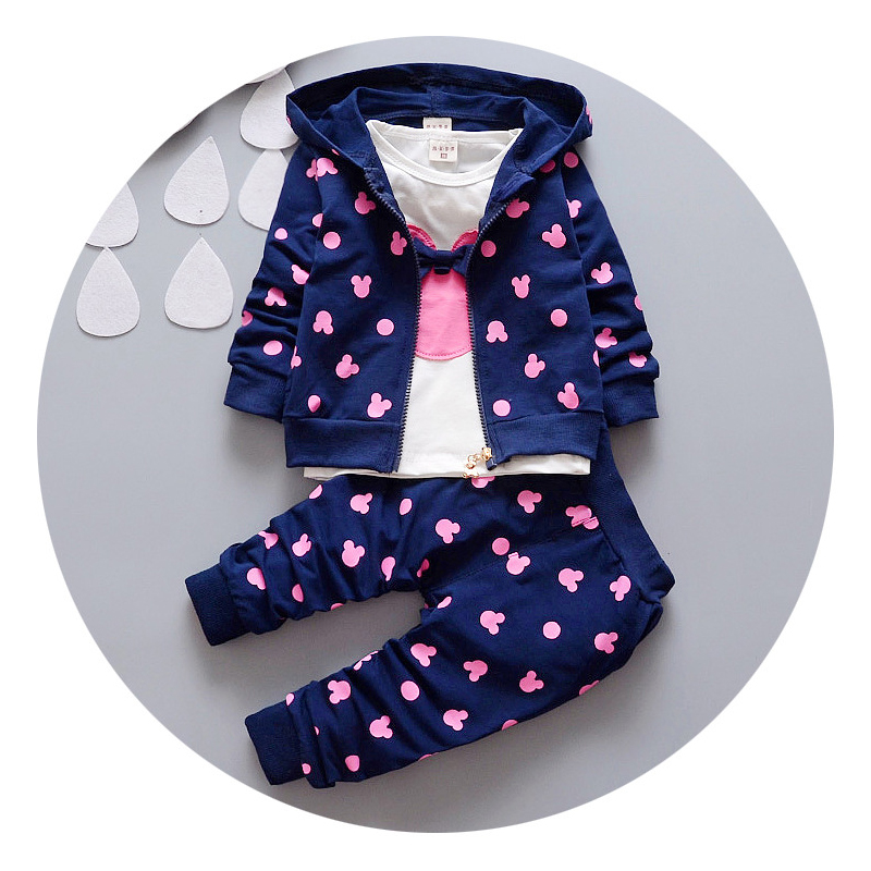 shi shu hua clothes winter children's clothing suit 3pcs