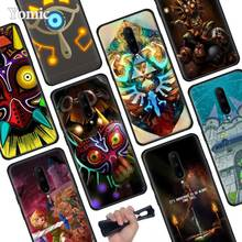 The Legend of Zelda Black Soft Case for Oneplus 7 Pro 7 6T 6 Silicone TPU Phone Cases Cover Coque Shell