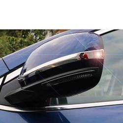 lsrtw2017 stainless steel car rearview chrome trims for renault kadjar koleos 2015 2016 2017 2018 2019