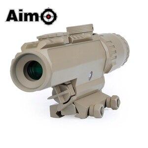 Image 5 - Lunette de visée Airsoft 1 3X grossissement portée tactique fusil de tir en aluminium télescope Softair AO3033 optique de chasse