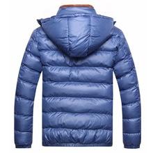 Winter Men Jacket Fashion Cotton Thermal