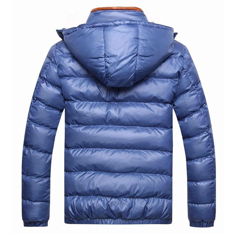 DIMUSI зима для мужчин куртка Мода хлопок термальность Толстые мужские парки Мужской Повседневная Верхняя одежда ветровки с капюшоном брендовая одежда 5XL, TA253