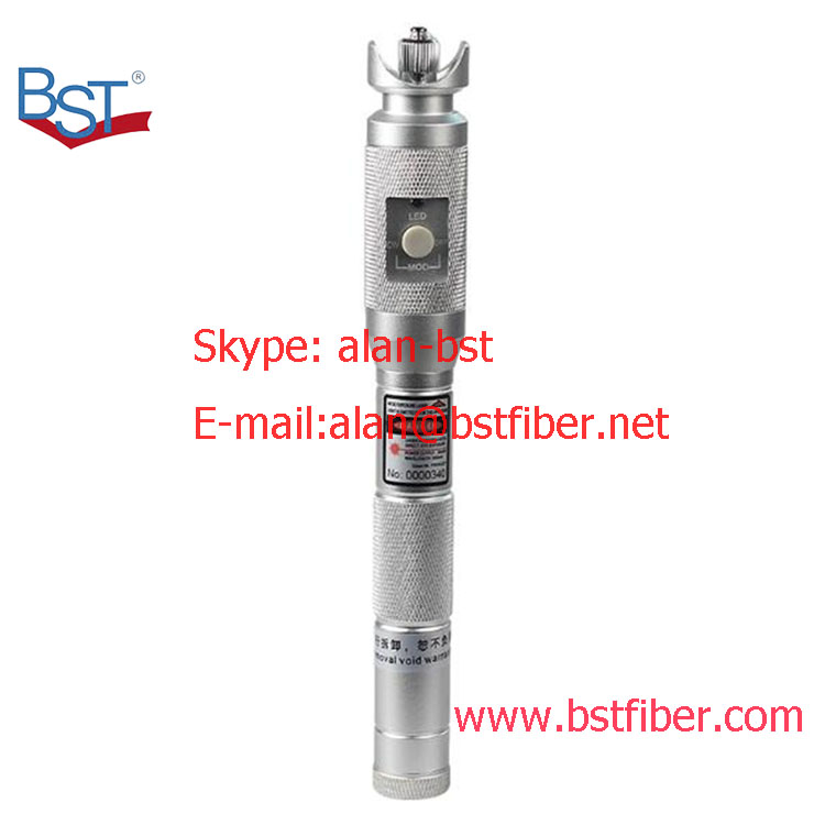 laser tester tool metal 20MW Visual Fault Locator, Fiber Optic Cable Tester 20Km Range