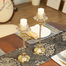 Styles Crystals Candle Stand Holders Table Centerpiece
