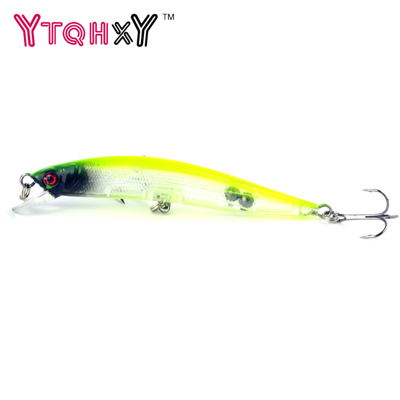 1Pcs Minnow Fishing Lure iscas artificiais para pesca 9.5cm 8.5g wobblers carp fishing crankbait swimbait Fishing Tackle YE-124Y lushazer fishing lure minnow bait 18g hard lures carp fishing iscas artificiais 2016 wobbler crankbait cheap sea fishing tackle