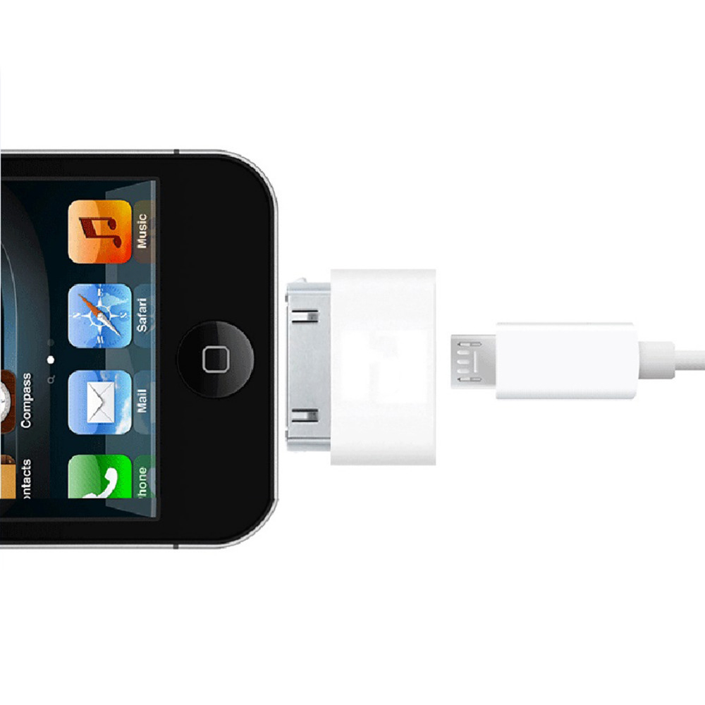 30Pin USB Converter Adapter For Iphone 4 4S Ipad For Ipod