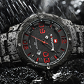 2016 New NAVIFORCE Watches Men Top Luxury Brand Hot Design Military Sports Wrist watches Men Digital Quartz Men Full Steel Watch