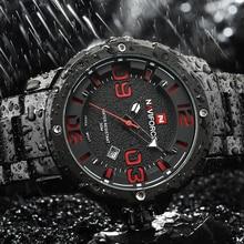 2016 New NAVIFORCE Watches Men Top Luxury Brand Hot Design Military Sports Wrist watches Men Digital Quartz Men Full Steel Watch