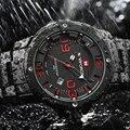 2016 Novo NAVIFORCE Relógios Homens Top Marca de Luxo Projeto Quente Esportes militares relógios De Pulso Dos Homens Digital Quartz Homens de Aço Completa relógio