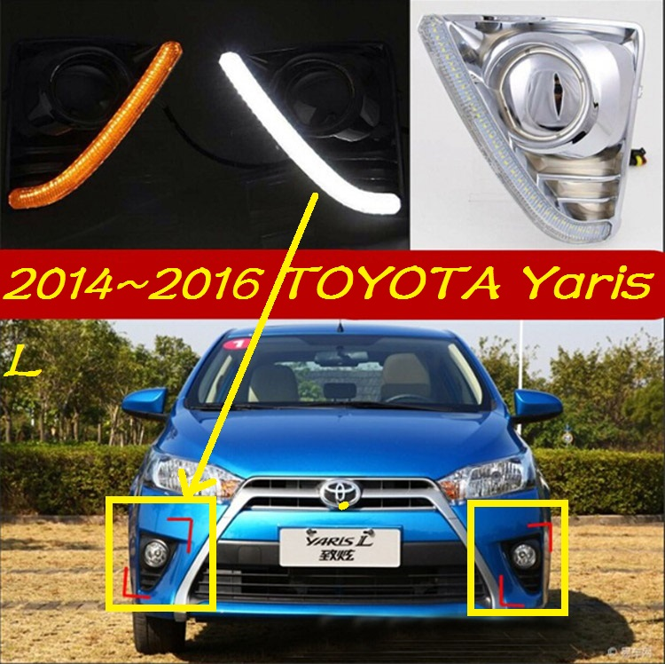 LED,2014~2016 yearis L day Light, yearis fog light, yearis headlight;vios,corolla,camry,Hiace,tundra,sienna,yaris L