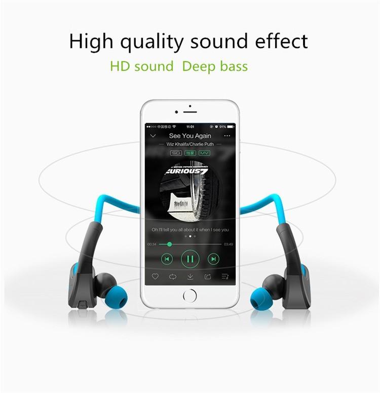 Dacom Armor Bluetooth V4.1 Stereo Headphones IPX5 Waterproof Wireless Outdoor Sports Headset Handsfree Music Earphone With Mic(9)